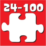 Puzzle 24 - 100 Τεμ.
