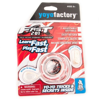 YOYO FAST 201 BLISTER red